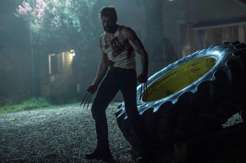 """Hugh Jackman plays the title X-Men character in the R-rated """"Logan."""""""