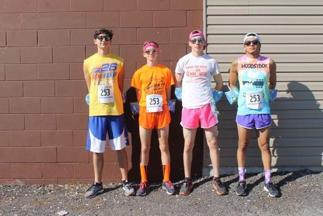 Pictured are the Neal's Boys, of Steeleville, team of Logan Fulkerson, Jacob Fedderke, Mel Mulholland and Patrick Rohlfing.