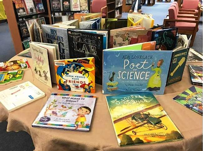 These books were purchased for Eldorado Memorial Library's summer reading program thanks to grant money from Ronald McDonald House Charities.