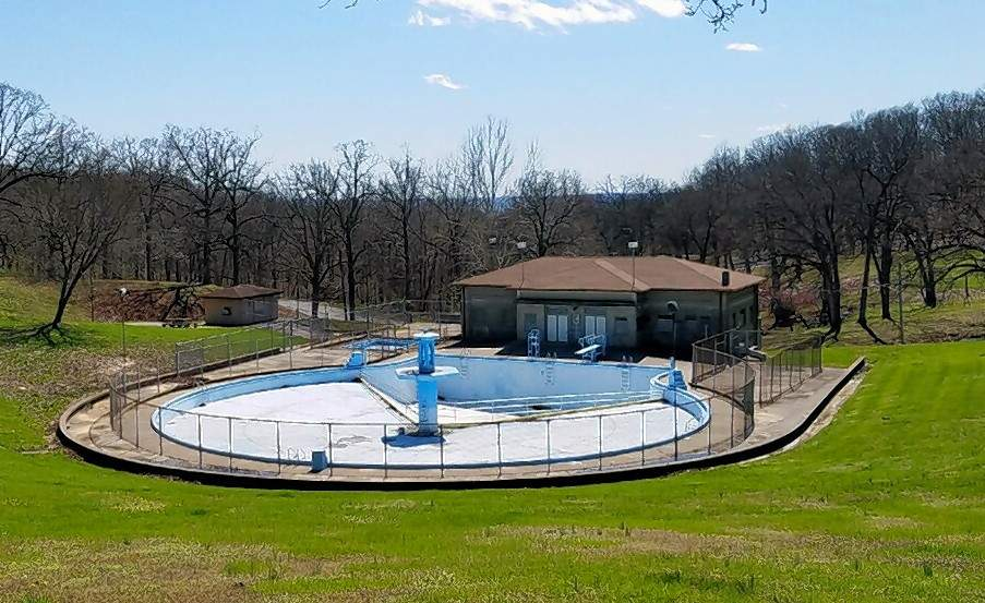 The Chester Swimming Pool has been vacant since 2012. City leaders are looking at a plan to remove the old basin.