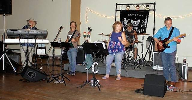 The Band Crystal and the Bone Shakers plays at the Chester Moose Lodge  on Sept. 7