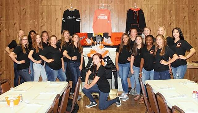 The Chester High school Dance Team hosted a fried chicken dinner at the Knights of Columbus on Sept. 9.