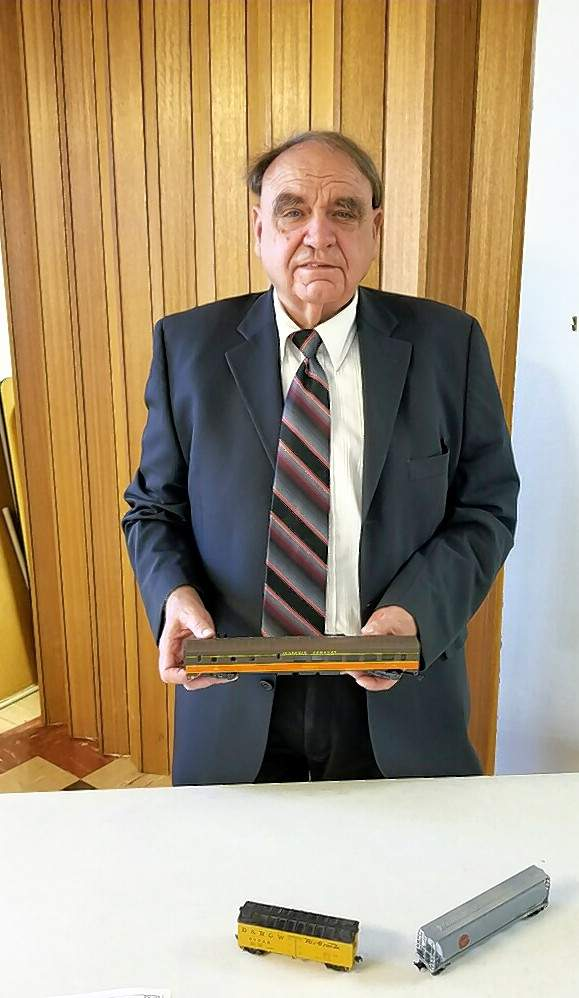 Pastor Harold Weber was the guest speaker at a meeting of the Chester Women's Club on Friday, Sept. 28. He spoke on Railroads and Their Continued Influence on the Life & Economy in Randolph County.