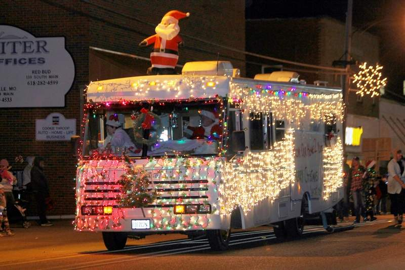 """One of the clever entries in last year's parade was the The Yankey Family's Clark Griswold-themed entry, celebrating the movie, """"Christmas Vacation."""""""