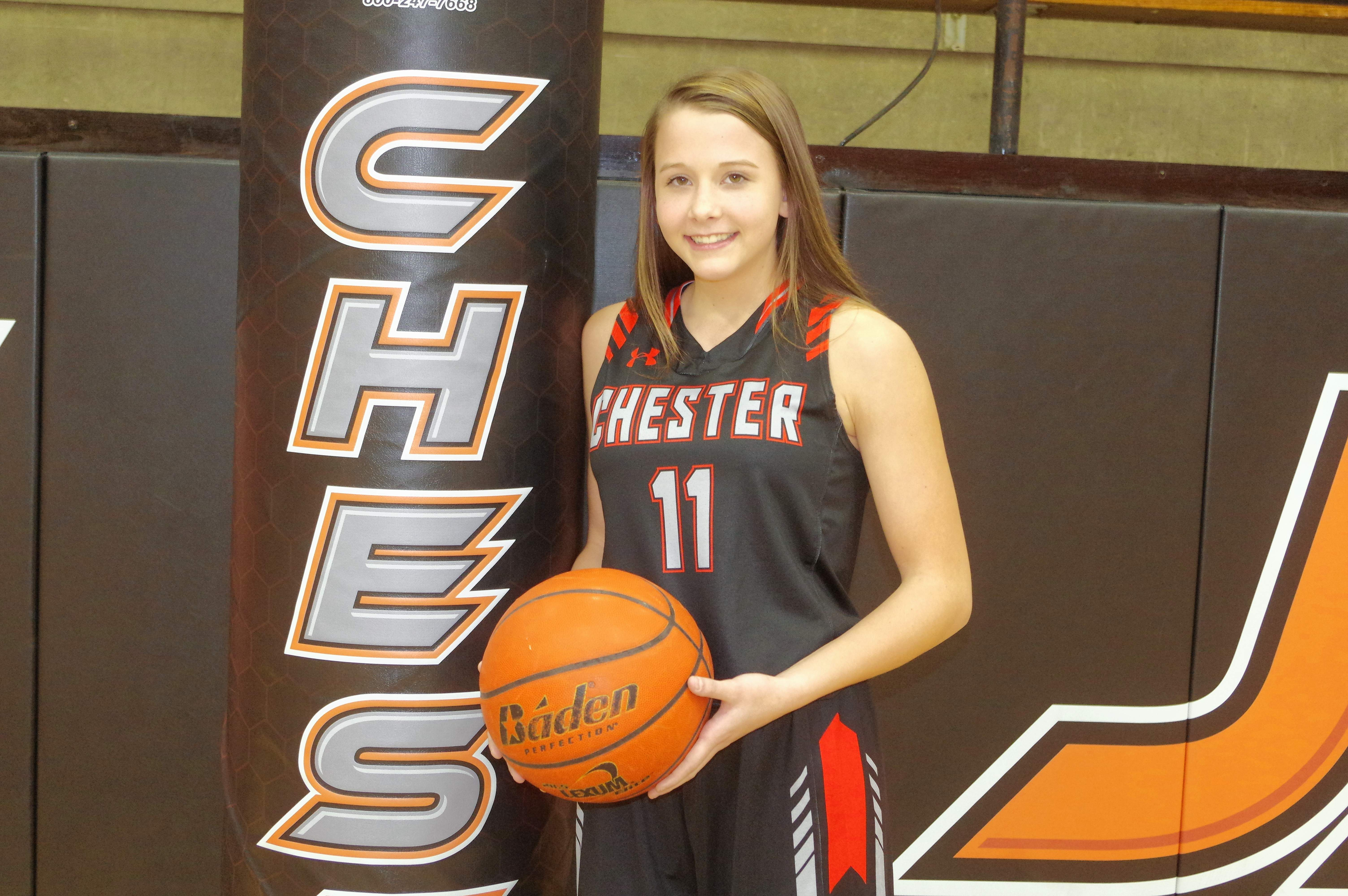 CHS sophomore Kendall Williams had a good Lebanon Tournament, with 51 points, 12 rebounds and three loose ball recoveries.