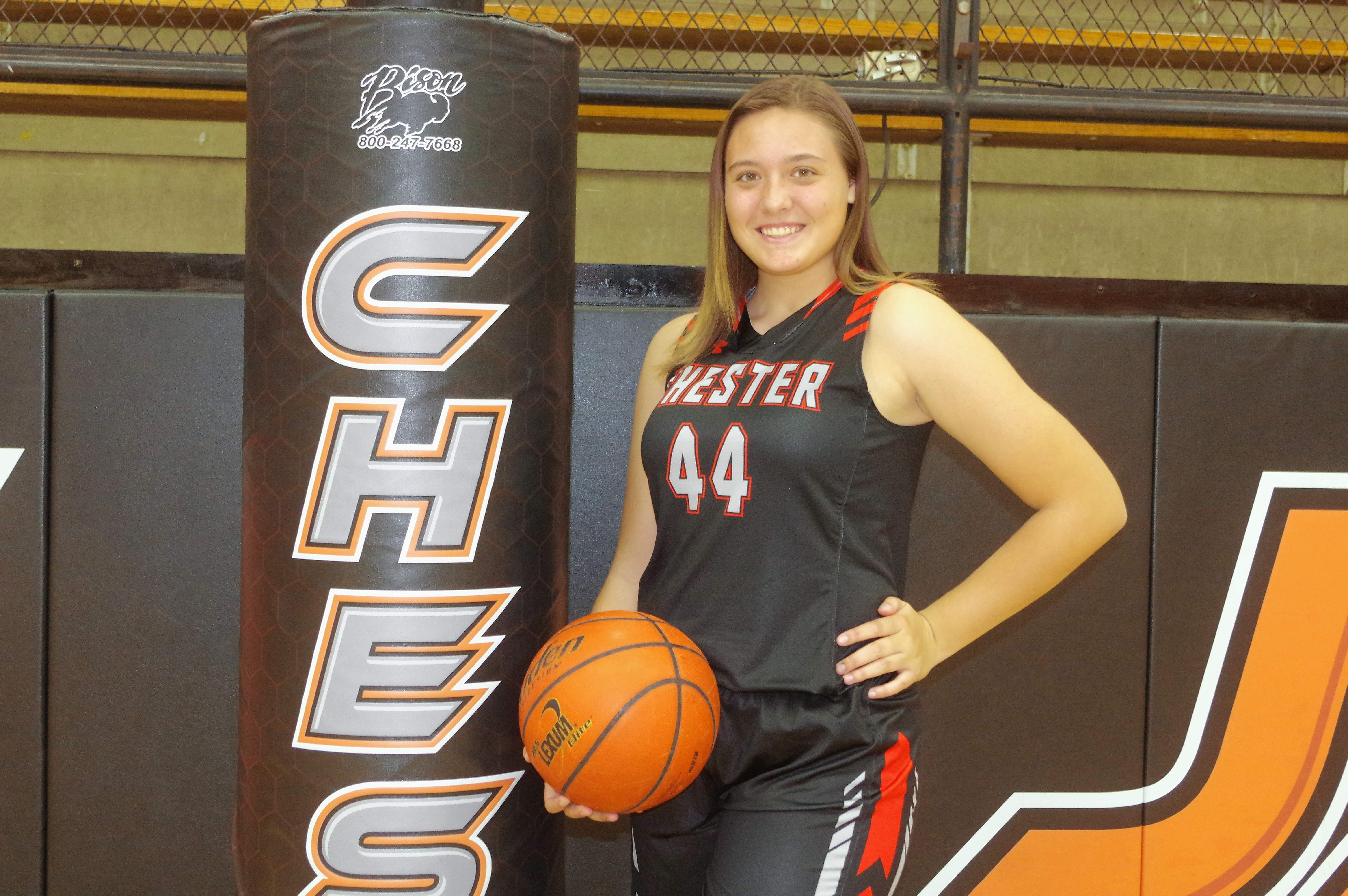 Freshman Alyssa Seymour has worked her way into a starting position for the 2018-2019 Lady Yellow Jackets.
