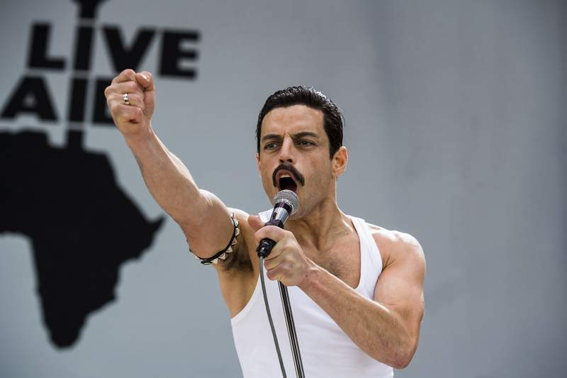 "Rami Malek rocks in ""Bohemian Rhapsody."" But will he beat Christian Bale for a Best Actor Oscar?"