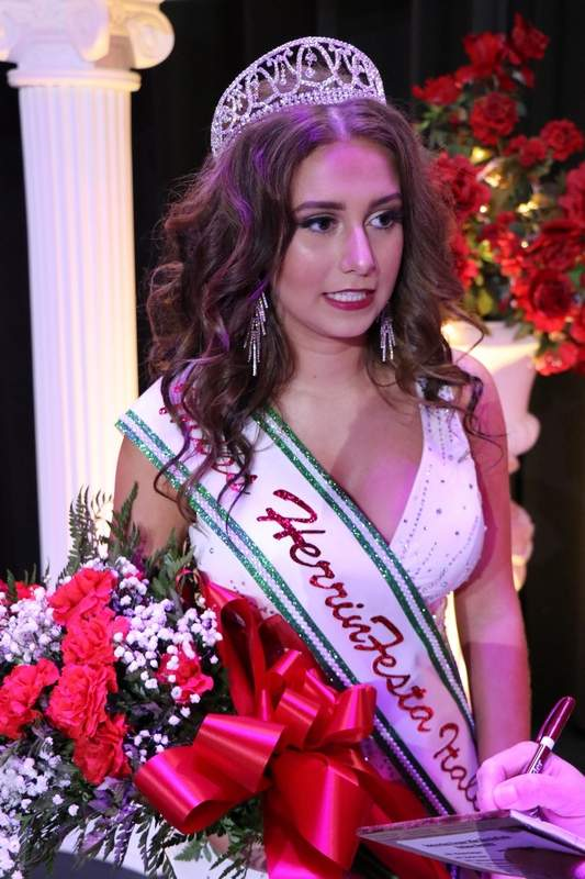 Sophia Davie's first-ever pageant entry resulted in her being crowned Miss HerrinFesta Italiana Monday evening.