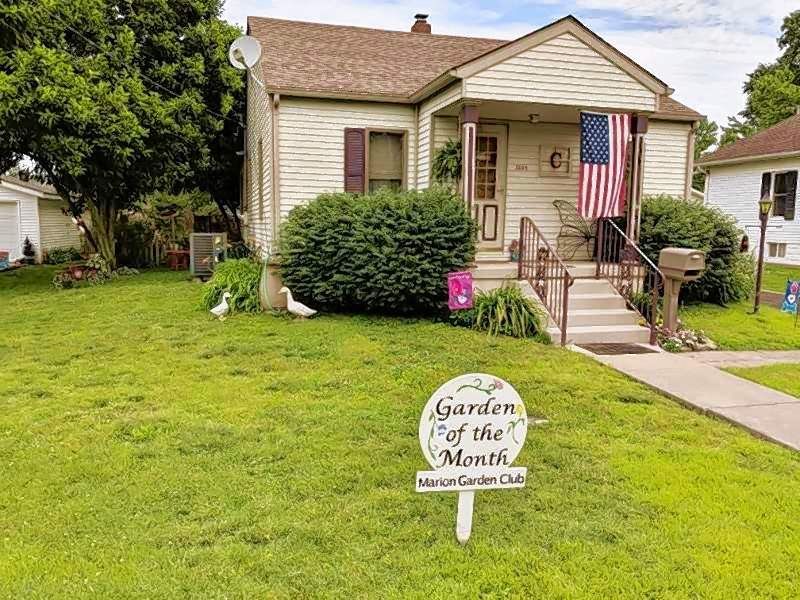 Gardens maintained by Carol Murphy and Dudley Cantrell, 1204 E. Parham St. in Marion, have been selected as June's Garden of the Month.