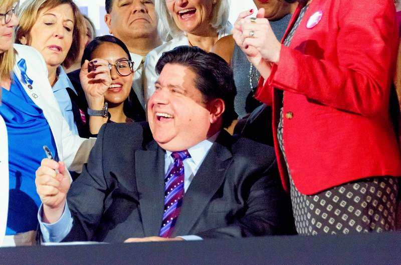 Gov. J.B. Pritzker last week signed more than 30 new laws, putting the total number of bills signed from the past legislative session at more than 100.