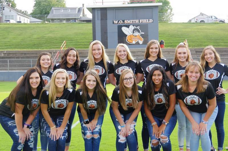 The Chester High School Dance Team, front row from left: Lauryn Vasquez, Avery Runge, Kayla Bert, Maddie Hasemeyer, Jocelyn Landeros and Mallary Vasquez.Back row, from left: Juliette Abernathy, Maria Nickle, Ashlyn Colvis, Kylie Fortner, Paige Vasquez, Taylor Cartwright and Hannah Blechle.Not pictured: Alison Venus.