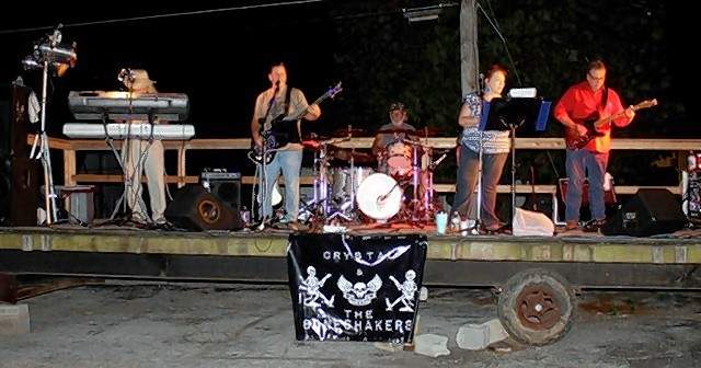 Crystal and the Boneshakers performs Friday night at the Chester Moose Lodge.