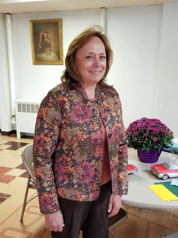 Melissa Gross, secretary of the Lifesavers Training Corp. board, was the guest speaker Sept. 27 at the Chester Women's Club.