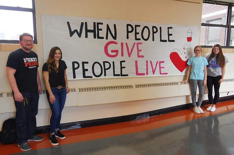 Chester High School is preparing for the blood drive on Feb. 13. The public is invited.