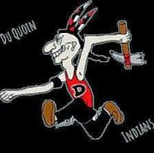 DQ Joe, the mascot of the Du Quoin High School Indians since the 1950s.