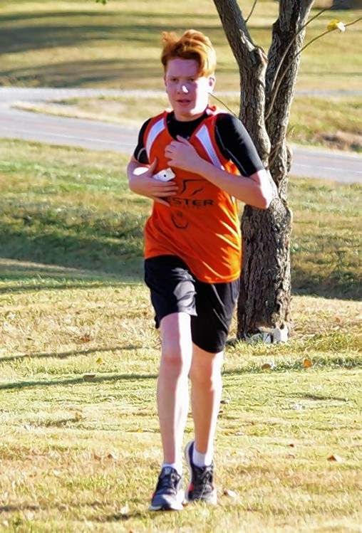 Chester eighth-grader Will Welge turned in a time of 17:00 flat Thursday, Oct. 15, at the Waterloo Regional.
