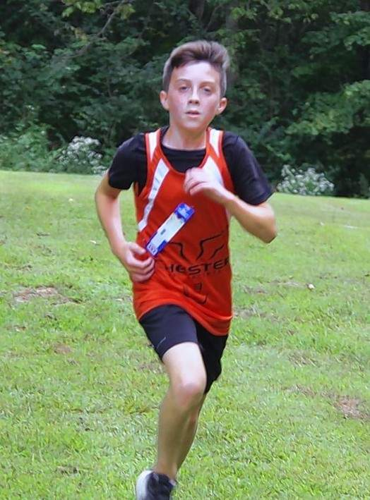 Eighth-grader Lincoln Schroeder completed his grade school cross country career Thursday, Oct. 15, at the 2020 IJHSAA Regional Meet. He led the Jr. Jackets with a time of 13:17 for 19th place, just missing the chance to advance to state.
