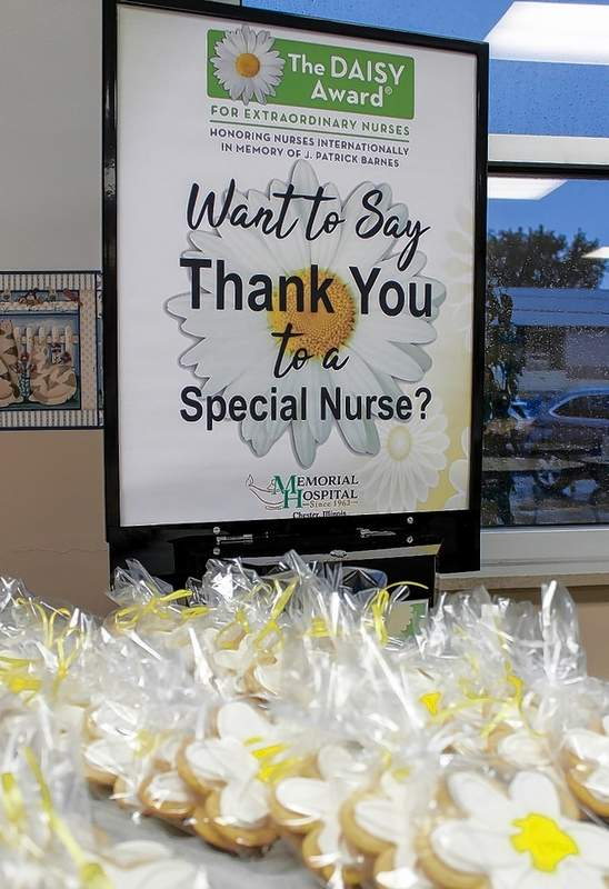 Nurses at Memorial Hospital in Chester can now be honored with The DAISY Award for Extraordinary Nurses.