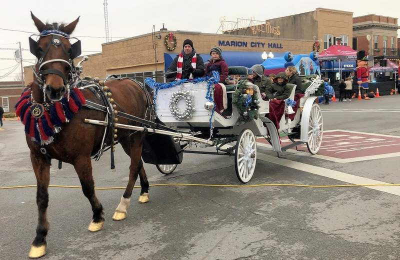 The popular carriage rides, from the 2019 celebration are a planned part of the 2020 festivities.