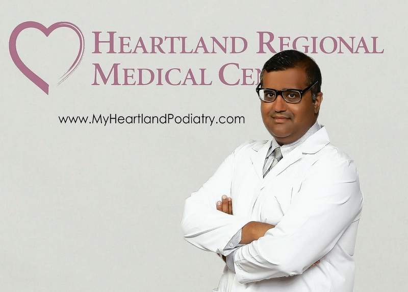 Podiatric Surgeon Dr. Asim Qureshi is a member of the medical staff at Heartland Regional Medical Center.