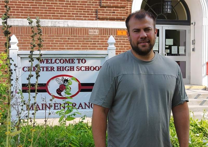 Bryce Bainter, the incoming athletic director for Chester High School.